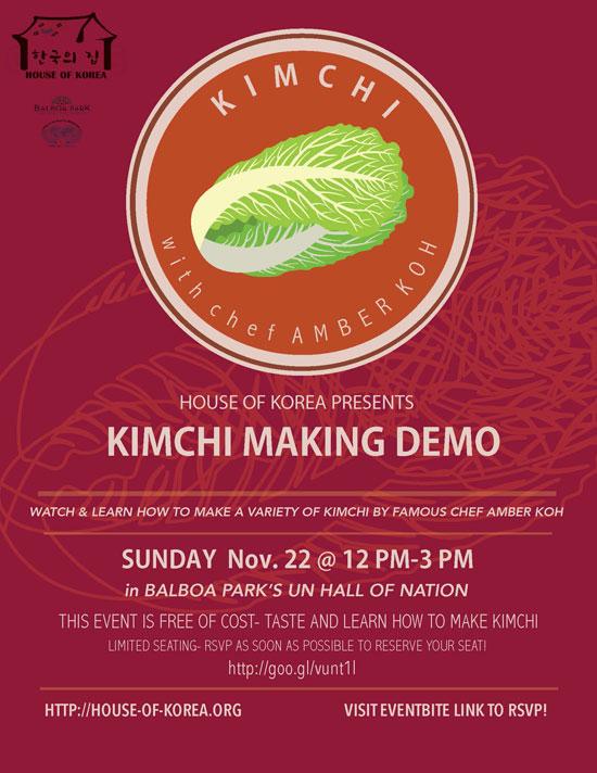 Kimchi Making Demo